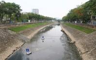 Xả hơn 1 triệu m3 nước hồ Tây thau rửa sông Tô Lịch