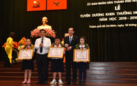 TP HCM tuyên dương 618 học sinh giỏi các cấp