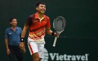 Hoàng Nam ngược dòng thắng ở giải quần vợt Ai Cập