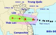 Bão số 4 giật cấp 11 đổ bộ Nghệ An - Quảng Bình sáng mai, gây mưa lớn
