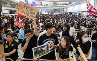 Người biểu tình Hồng Kông vận động sự ủng hộ quốc tế
