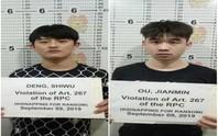 2 du khách Trung Quốc bị bắt cóc ở Philippines sau khi thua bạc