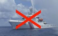 Hành động khiêu khích của tàu tuần duyên Trung Quốc ở biển Đông