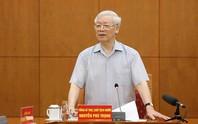 Tổng Bí thư, Chủ tịch nước nêu hàng loạt câu hỏi khi chủ trì cuộc họp Tiểu ban Văn kiện Đại hội Đảng XIII