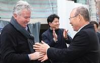 HLV Park Hang-seo háo hức đấu Guus Hiddink
