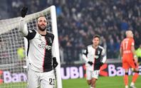 Juventus chia cắt bộ đôi sát thủ Ronaldo và Gonzalo Higuain