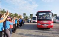 Đà Nẵng: Niềm vui 2.500 lao động trên Chuyến xe Công đoàn