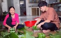 Trần Minh Vương kể chuyện đưa Việt kiều Mỹ về Thái Bình đón Tết, khoe cùng mẹ gói bánh chưng