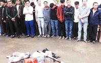 Bắt 121 người tàng trữ, đốt pháo trong đêm giao thừa
