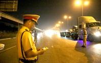 Uống rượu bia lái xe: 5 ngày, CSGT TP HCM chỉ xử 184 tài xế