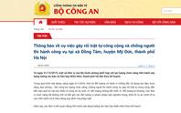 Vụ chống đối nghiêm trọng ở xã Đồng Tâm: 3 công an hy sinh, 1 người chống đối tử vong