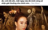 Facebook nghệ sĩ tràn ngập lời cảm ơn Giải Mai Vàng