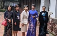 CLIP: Phu nhân Thủ tướng Nhật Bản tham quan Văn Miếu - Quốc Tử Giám