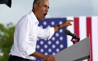 Ông Obama chế giễu Tổng thống Trump vì trốn tránh câu hỏi của phóng viên