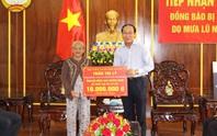 Mẹ Việt Nam Anh hùng ở Quảng Nam ủng hộ 10 triệu đồng cho bà con vùng lũ