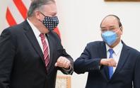 Thủ tướng Nguyễn Xuân Phúc tiếp Ngoại trưởng Mỹ Mike Pompeo