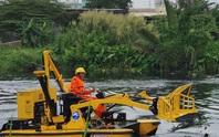 TP HCM: Tàu vớt rác trên mặt nước sẽ hoạt động trong tháng 3