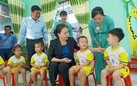 Chủ tịch QH Nguyễn Thị Kim Ngân thăm Trường Mẫu giáo Sơn Ca