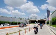 Từ 28-11, cấm ôtô vào làn hỗn hợp sau khi qua hầm vượt sông Sài Gòn