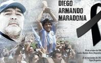 Pele, Messi, Ronaldo... và thế giới bóng đá tiễn biệt huyền thoại Maradona