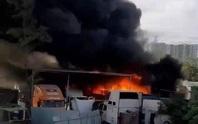 Điều tra vụ hàng loạt ôtô cháy trơ khung ở quận 9, TP HCM