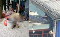 Mượn ôtô đi ăn tiệc tông 2 bố con tử vong, người con văng lên mái nhà bên đường