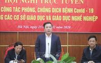 Giám đốc Sở GD-ĐT Hà Nội: Học sinh đi học trở lại ngày 2-3 tới nếu không có gì thay đổi