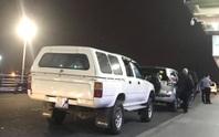4 khách nước ngoài thuộc diện cách ly vẫn được xe biển xanh chở ra sân bay Đà Nẵng