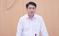 Chủ tịch Nguyễn Đức Chung đề xuất cho phép Hà Nội công bố ca bệnh Covid-19