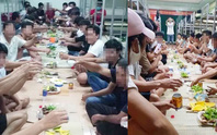 Tụ tập ăn mừng trong một khu cách ly ở Quảng Bình