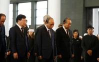 Chủ tịch Quốc hội, Thủ tướng Chính phủ viếng ông Vũ Mão