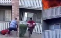 Mẹ ném con trai 3 tuổi xuống lầu, chết cháy khi cứu con gái 8 tuổi