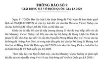 Trước trận gặp SLNA,  Hồng Lĩnh Hà Tĩnh choáng váng vì VPF treo giò ngoại binh