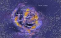 Choáng ngợp khủng long vũ trụ nuốt hàng trăm ngàn thiên hà