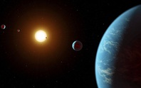 Phát hiện siêu trái đất cải trang kỳ lạ, hy vọng ở được