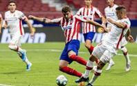 Chân gỗ Morata lập đại công, Atletico Madrid mơ Champions League