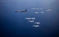 B-52 bay thẳng từ Mỹ đến biển Đông tham gia tập trận