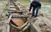 Yêu cầu kiểm tra công trình thủy lợi 119 tỉ đồng mới hoàn thành đã tan nát