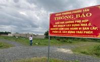 Biên Hòa: Khóc ròng vì dự án ma