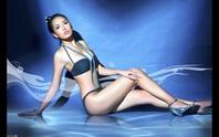 Diện bikini gợi cảm, Mai Phương Thúy xứng danh hoa hậu nóng bỏng nhất