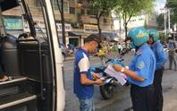 TP HCM: Vừa hoạt động lại, nhiều xe vận tải hành khách bị kiểm tra