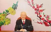 Tổng Bí thư, Chủ tịch nước Nguyễn Phú Trọng điện đàm với tân Tổng Bí thư Lào