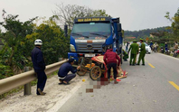 Tai nạn giao thông, 2 bố con tử vong