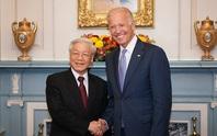 Lãnh đạo Việt Nam chúc mừng ông Biden nhậm chức Tổng thống Mỹ