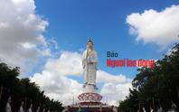 CLIP: Ngày Tết ở ngôi chùa có tượng Phật Bà cao nhất miền Tây