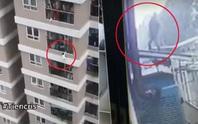 Người hùng thuật lại giây phút thót tim đỡ bé gái 2 tuổi rơi từ tầng 12A chung cư xuống