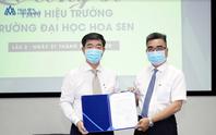 PGS-TS Nguyễn Ngọc Điện rời ghế Hiệu trưởng Trường ĐH Hoa Sen