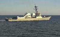Nga truy đuổi tàu khu trục Mỹ trên biển Nhật Bản