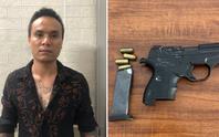 Bắt nghi phạm nổ súng bắn người trước cửa quán cơm 0 đồng
