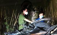 Ghen tuông, đốt xe sếp của vợ ở quận 7